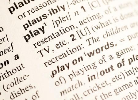 play word photo