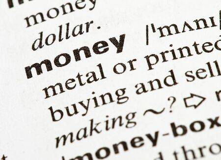money word Stock Photo - 7982647