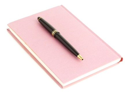 pen and book Stock Photo - 7982739