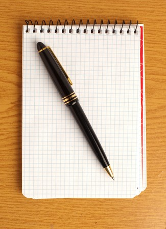 pen and notebook Stock Photo - 7982849