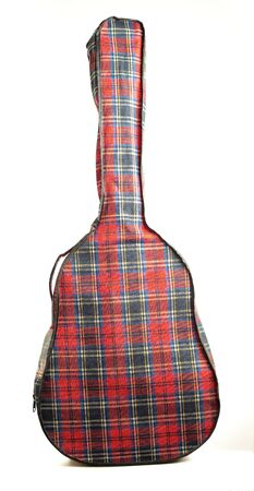 guitar case: classic guitar case Stock Photo