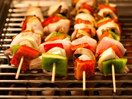 RAW brochettes