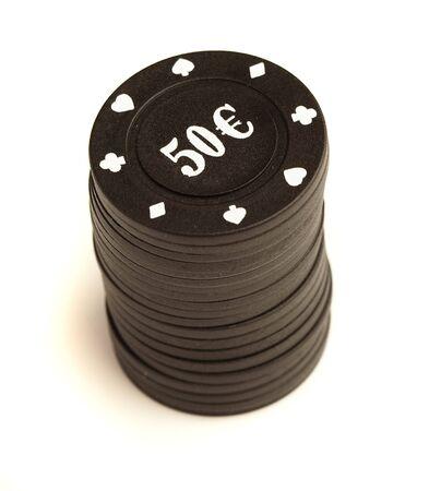 poker chips Stock Photo - 8194071