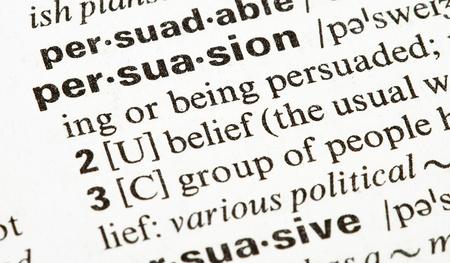 peace risk: persuasion