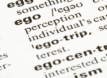 narcissistic: ego