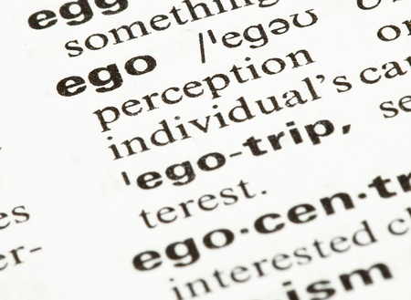 egoist: ego