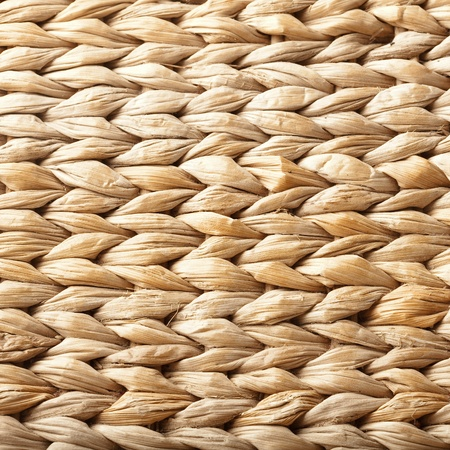 extreme closeup of a vintage wicker texture photo
