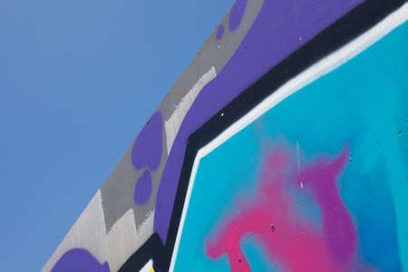 defiance: grafitti Stock Photo