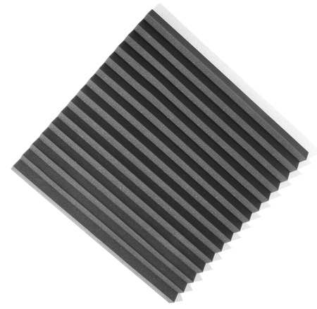 acoustic foam isolated on a white background Stock Photo - 8228882