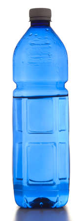 water bottle isolated on a white background Stock Photo - 8229345
