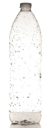 plastic bottle isolated on a white background Stock Photo - 8229618