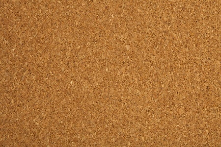 cork board: extreme closeup of a cork table texture Stock Photo