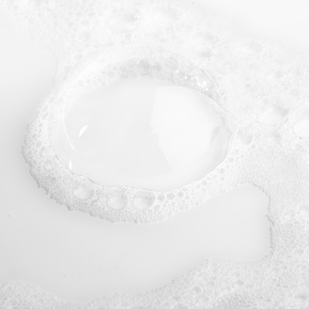 liquid material: extreme closeup of a fresh milk texture