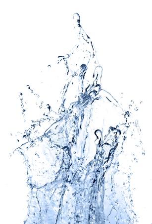 water splashing: water splash Stock Photo