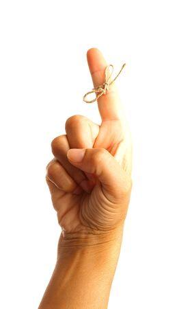 hand symbool dat middelen onthouden