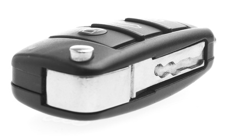 electronic car key isolated on a white background Stock Photo - 8706463