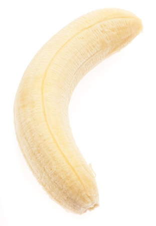 one banana isolated on a white background Stock Photo - 8706498