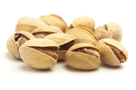pistachios: pistachios stack isolated on a white background