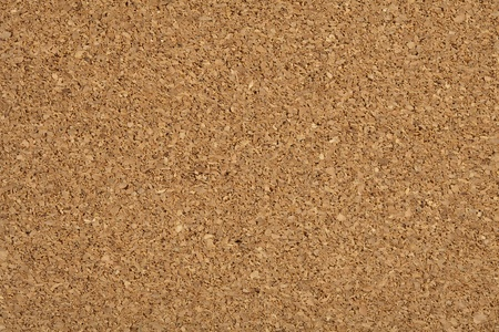brown cork: useful brown corkboard texture, extreme closeup photo Stock Photo
