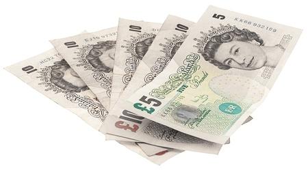 pounds money: 5 libras de fotos nota Primer extremo