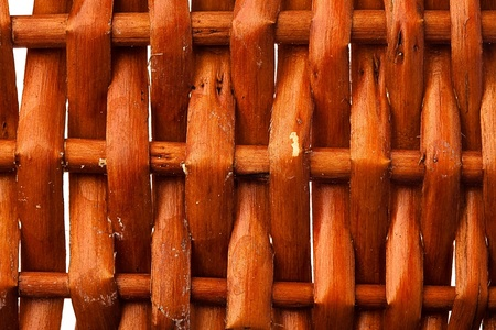 wicker texture, extreme closeup photo photo