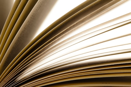 old book open, extreme closeup photo Stock Photo - 10973908