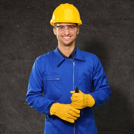Portrait of an engineer, outdoor Stock Photo - 14690013