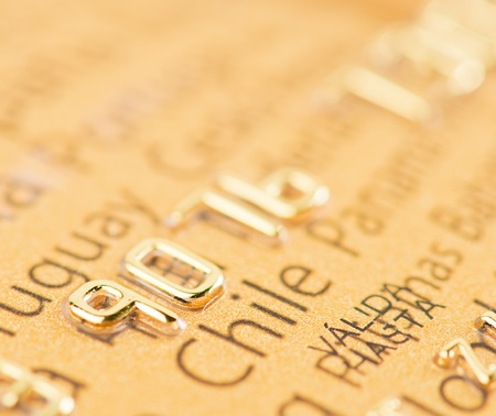 Golden Credit Card photo