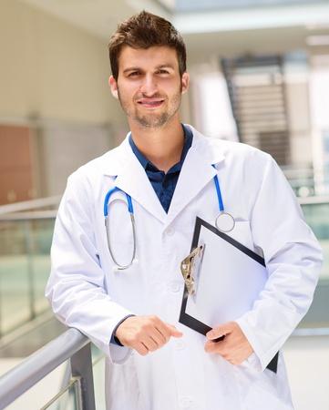 Portrait Of Young Doctor, Indoor Stock Photo - 15857295