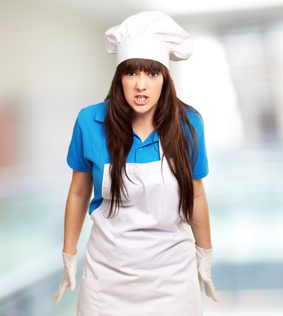 clench: Clench Of Woman Cook, Indoor