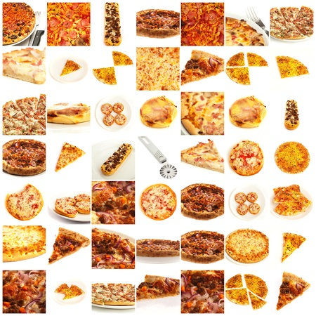 Assortment Of Pizza photo