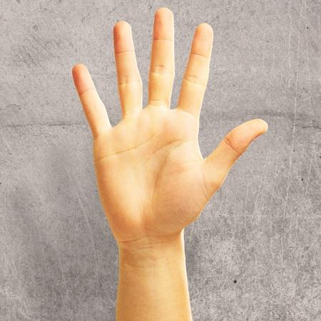 hands high: Human Hand, Background