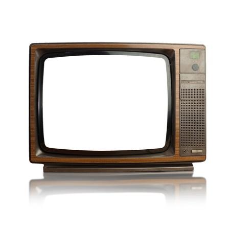 old television: vintage tv
