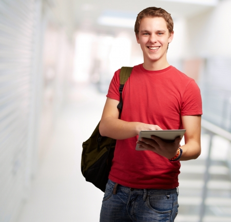 Portrait Of A Young Student, Indoor photo