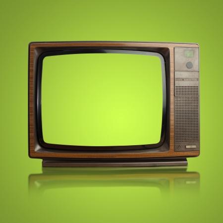 Vintage TV Archivio Fotografico - 16290534