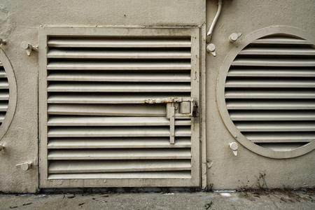 vent: Gate Hatch Vent Stock Photo