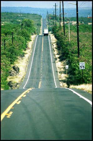 road ahead: Long Road Ahead in Hawaii