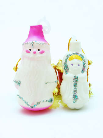 snegurochka: Russian Christmas characters Father Frost (Ded Moroz) and Snow Maiden (Snegurochka)