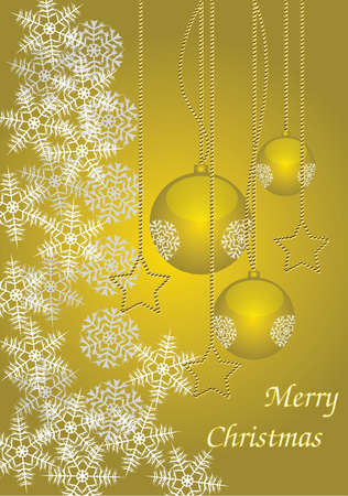 suggestive: Merry Christmas Elegant Suggestive Background for Greetings Card