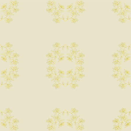 Seamless floral background. Repeat many times. illustration. illustration