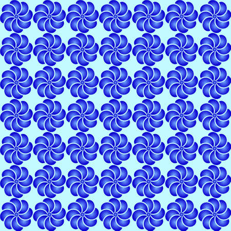 Seamless wallpaper patternr without a seam from beautiful bent lines Vector