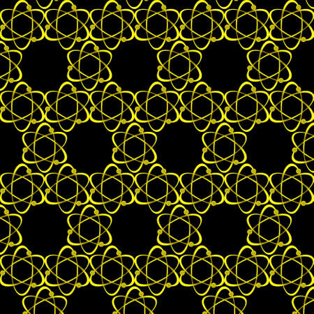 fission: Wallpaper with the image of a silhouette of flying atom