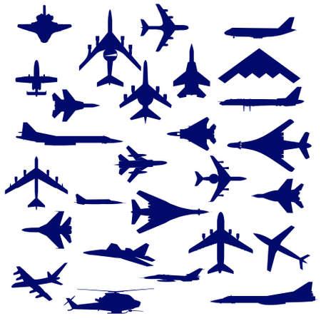 battle plane: Aviones de combate Vectores