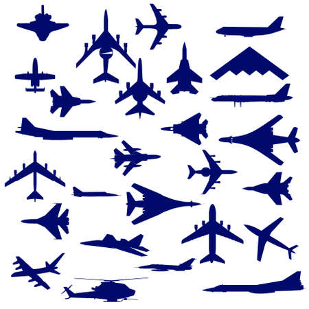 Combat aircraft Stock Vector - 9034060