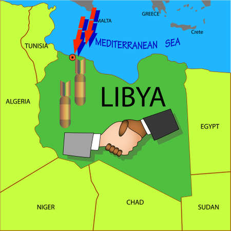 collisions: Stop military operations in Libya.