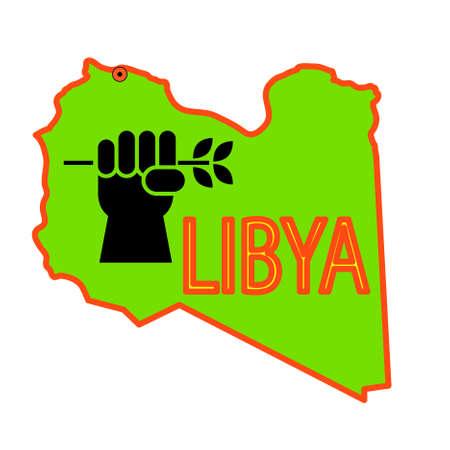 operations: Arr�t des op�rations militaires en Libye. Illustration