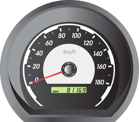 car speedometers for racing design. Vector