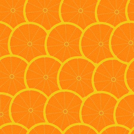 Grapefruit seamless background wallpaper Vector