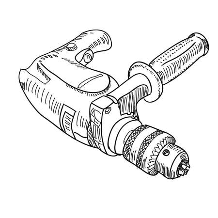 Vector drill with handle Vector