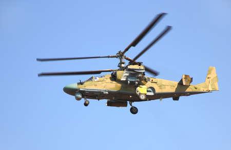 Russian helicopter Ka-52 (alligator)